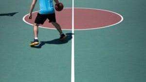 Traction of Basketball Shoe