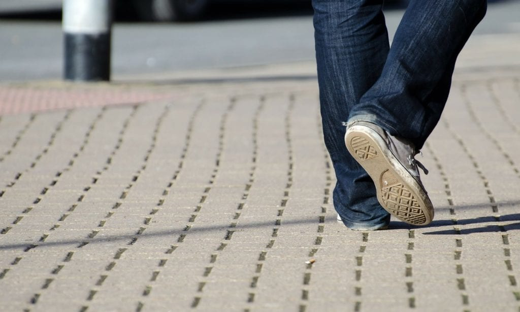 What Causes The Leg To Break Out After Walking On Concrete?