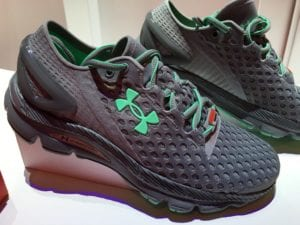 What are Under Armour Shoes made of