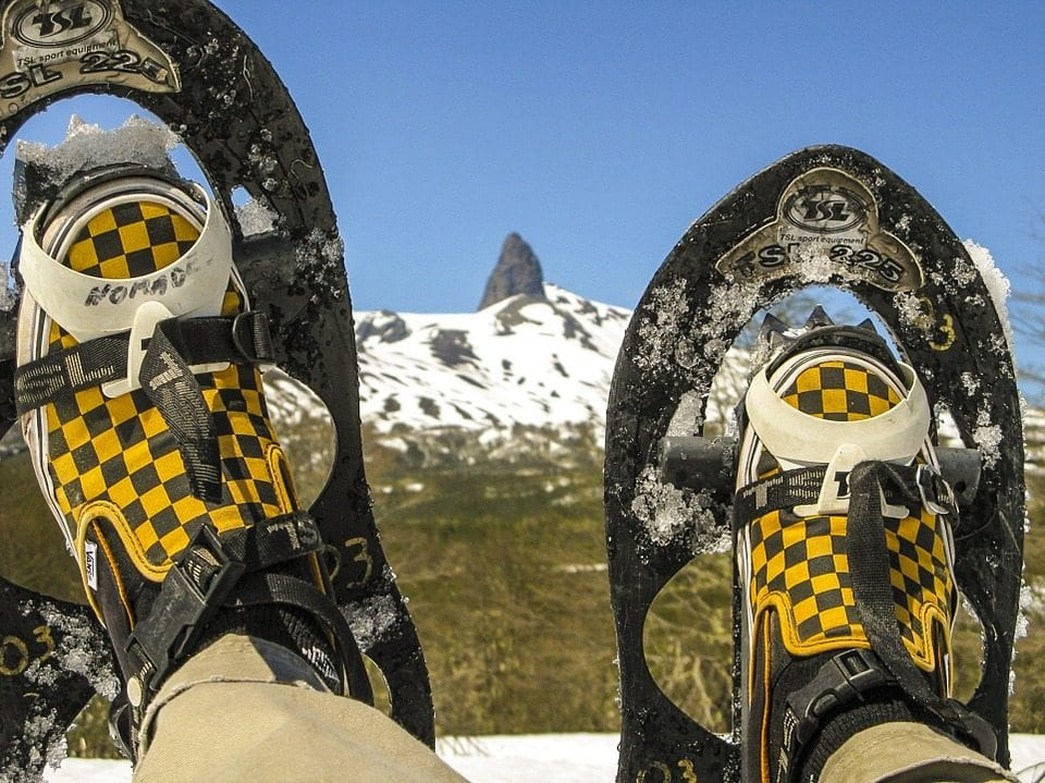 What shoes to wear with snowshoes