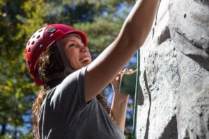 Edging in Rock Climbing