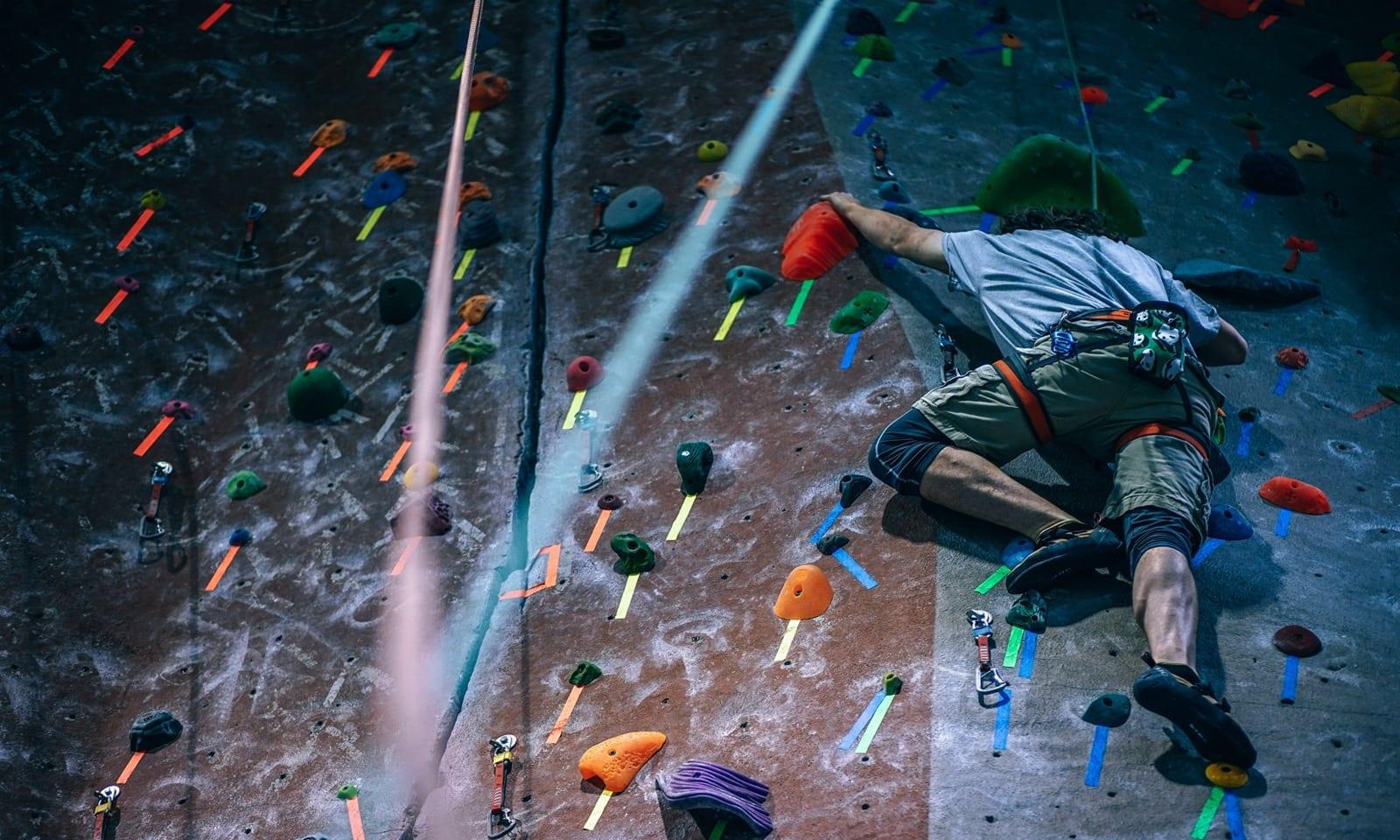 man-climbing-wall