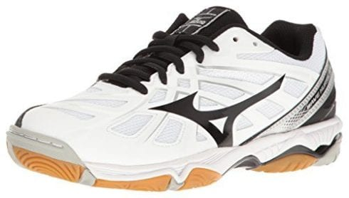 mizuno womens volleyball shoes size 8 xl japan white hands ladies