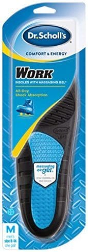 Dr. Scholl's comfort and energy work