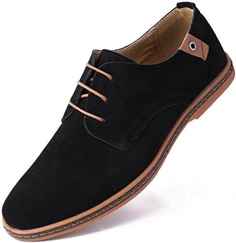 mens black casual shoes