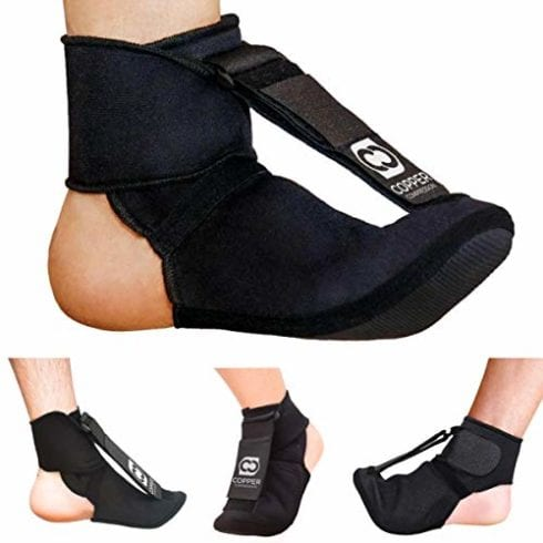 Ночной носок с медной компрессионной шиной