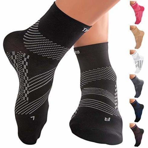 Компрессионные носки TechWare Pro до щиколотки