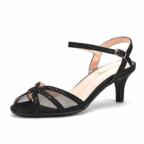 DREAM PAIRS - Женские босоножки на низком каблуке Nina